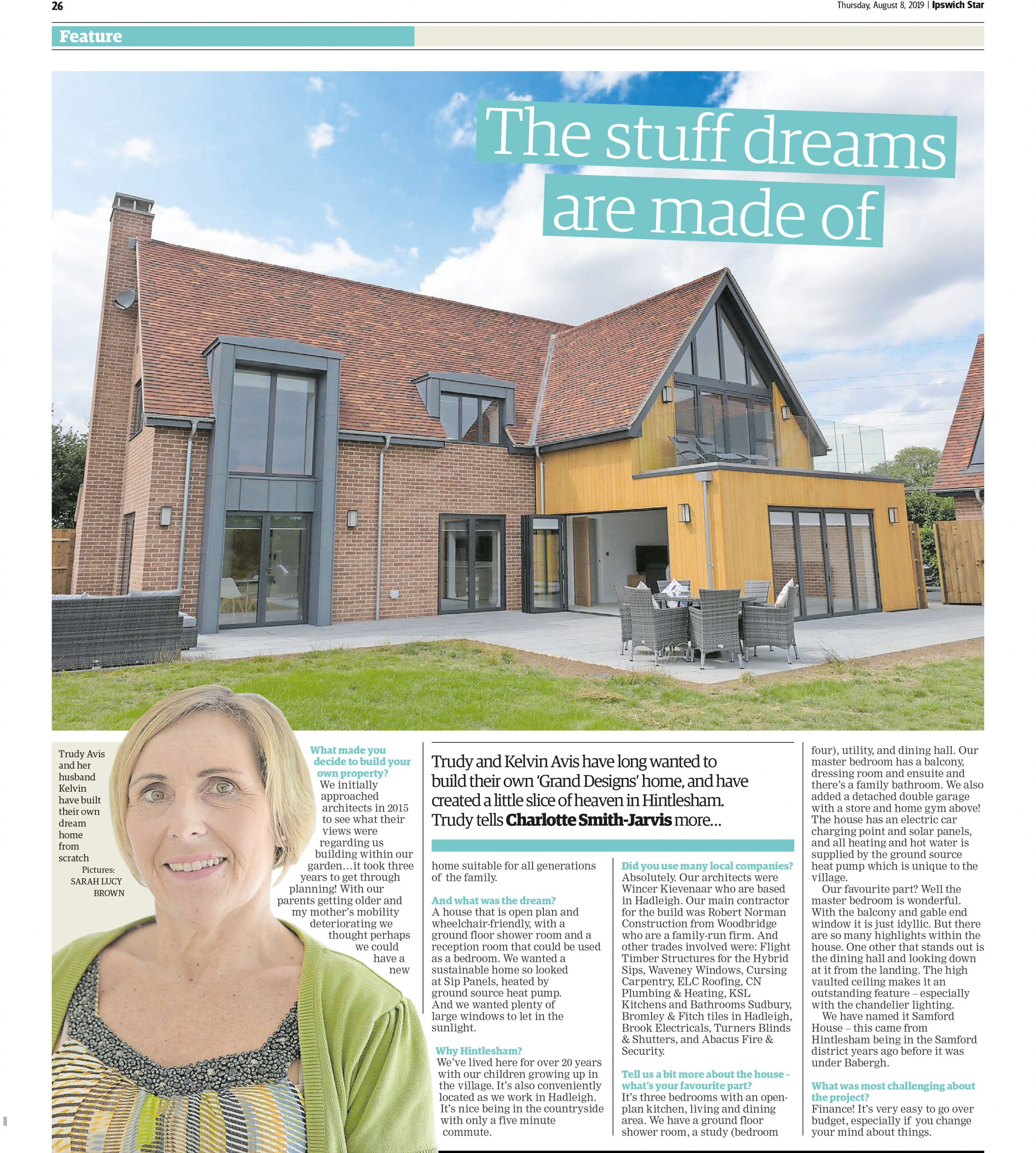The Stuff Dreams Are Made of Article, ELC Roofing